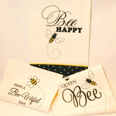 Decorative Bee Kitchen Towels